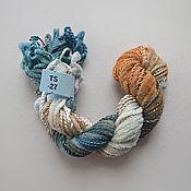 Материалы для творчества handmade. Livemaster - original item Mix of 5 different threads for embroidery (№27). Handmade.