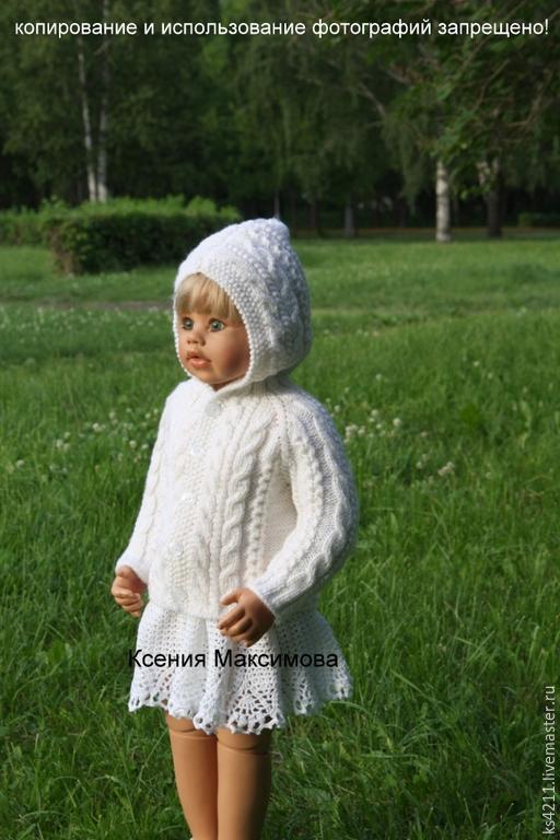 """Одежда для девочек, ручной работы. Ярмарка Мастеров - ручная работа. Купить кофточка """"Я- принцесса""""  авт. работа. Handmade. Фиолетовый"""