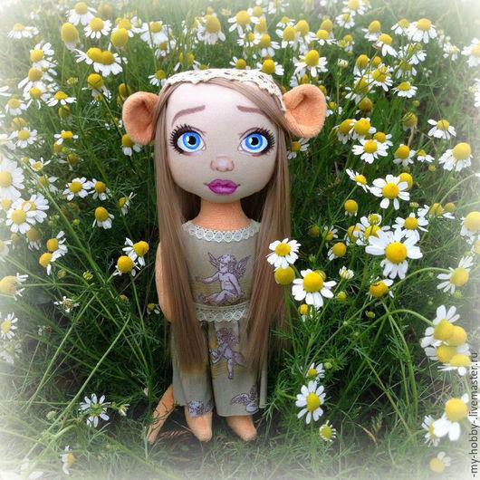 Коллекционные куклы ручной работы. Ярмарка Мастеров - ручная работа. Купить Машенька. Текстильная кукла. Handmade. Кукла текстильная