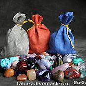 Куклы и игрушки ручной работы. Ярмарка Мастеров - ручная работа Набор Самоцветы (полудрагоценные камни) для игр 0,5кг. Handmade.