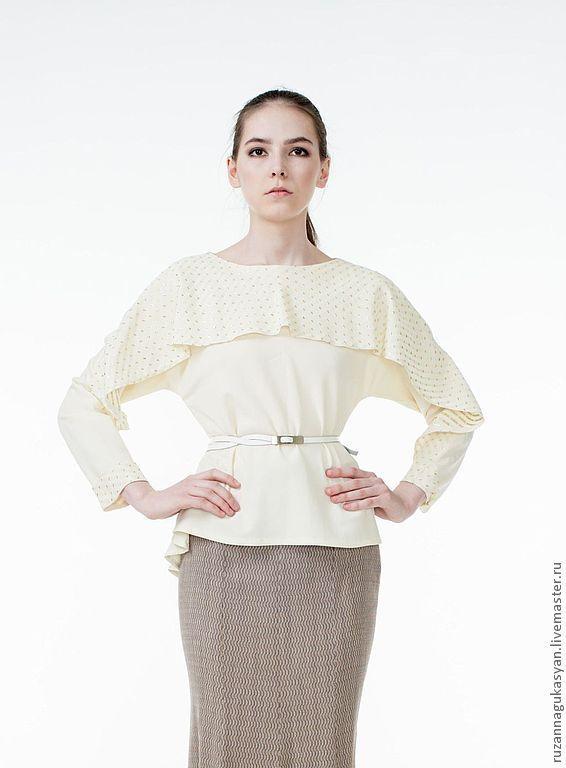 Блузка На Кокетке