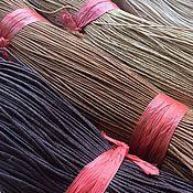 Материалы для творчества ручной работы. Ярмарка Мастеров - ручная работа Шнур вощеный 1 мм, 10 цветов. Handmade.