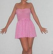 Одежда ручной работы. Ярмарка Мастеров - ручная работа коктельное платье с пышной юбкой. Handmade.