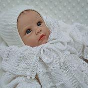 """Кофта ручной работы. Ярмарка Мастеров - ручная работа Вязанная кофточка для новорожденного """" крохотуля"""". Handmade."""