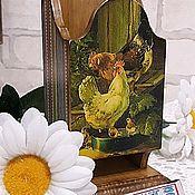 """Утварь ручной работы. Ярмарка Мастеров - ручная работа Спичечница """"Лето в деревне"""". Handmade."""