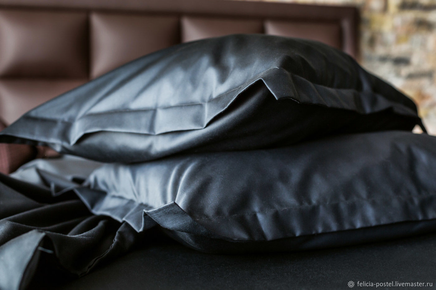 «ONLY Black LUX »-постельное белье из LUX сатина, Принадлежности, Чебоксары, Фото №1