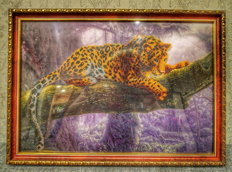 Леопард, Картины, Коряжма,  Фото №1
