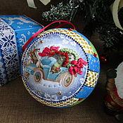 Сувениры и подарки handmade. Livemaster - original item Christmas ball