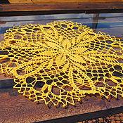 Для дома и интерьера ручной работы. Ярмарка Мастеров - ручная работа Салфетка Первоцвет. Handmade.