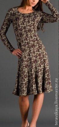 Платья ручной работы. Ярмарка Мастеров - ручная работа. Купить Платье Книт. Handmade. Платье летнее, платье вечернее