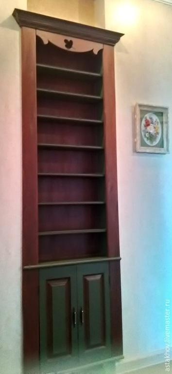 шкаф из бука, шкаф для коллекционера