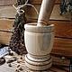 Кухня ручной работы. Деревянная ступка с пестиком.. Golden LES-магия деревянной резьбы (goldenles). Ярмарка Мастеров. Заготовка из дерева
