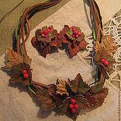 Колье ручной работы. Ярмарка Мастеров - ручная работа украшение на шею Красная смородина. Handmade.