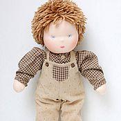 Вальдорфские куклы и звери ручной работы. Ярмарка Мастеров - ручная работа Вальдорфская кукла Степа. Handmade.