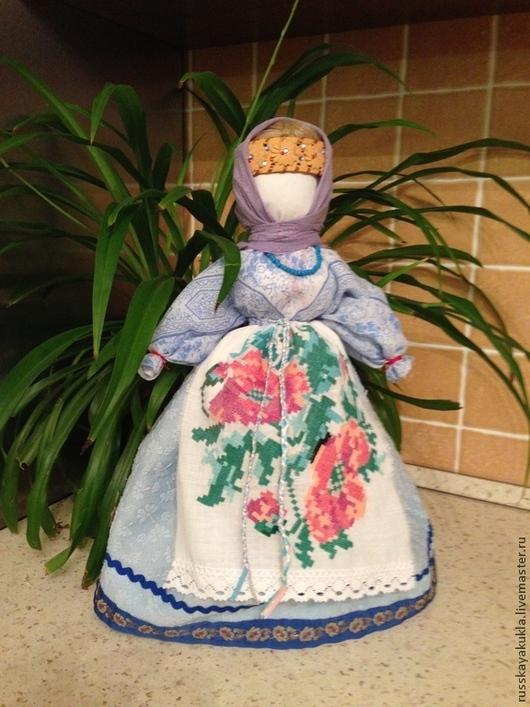 кукла `Столбушка` Снегурочка мастер: Федотова Наталья