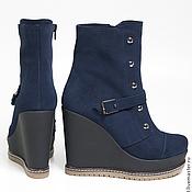 Обувь ручной работы. Ярмарка Мастеров - ручная работа Ботинки Frost. Handmade.