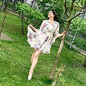 Одежда handmade. Livemaster - original item Summer dress, delicate dress!. Handmade.