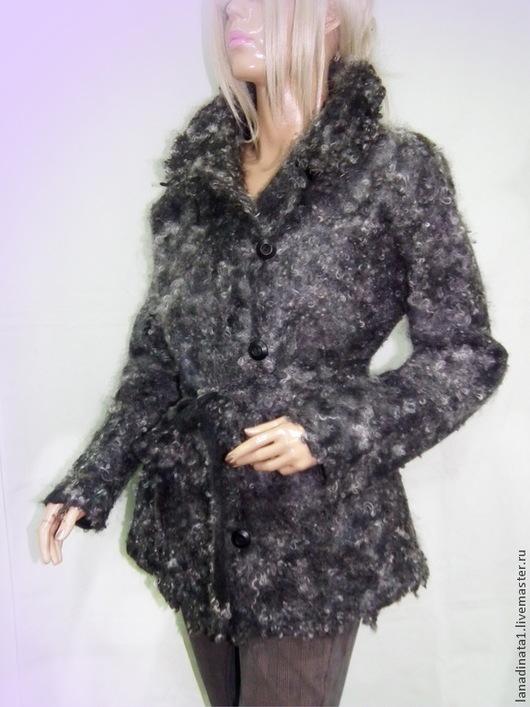 """Верхняя одежда ручной работы. Ярмарка Мастеров - ручная работа. Купить Куртка из валяной шерсти  """"Gotland"""". Двухсторонняя. Handmade."""
