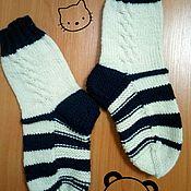 Носки ручной работы. Ярмарка Мастеров - ручная работа Вязаные носки ручной работы. Handmade.