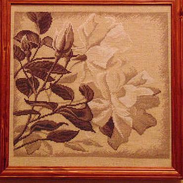 """Картины и панно ручной работы. Ярмарка Мастеров - ручная работа Картина """"Нежный цветок"""". Handmade."""