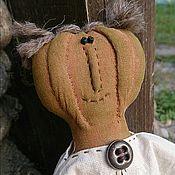 Куклы и игрушки ручной работы. Ярмарка Мастеров - ручная работа Кукла авторская Леди Pumpkin. Handmade.