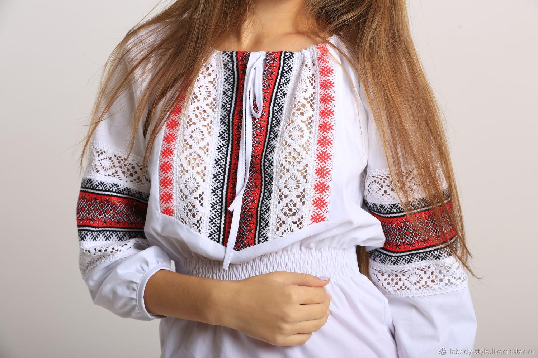 """Блуза """"Любава"""", Народные костюмы, Дзержинск,  Фото №1"""