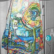 Работы для детей, ручной работы. Ярмарка Мастеров - ручная работа радостный город Платье девочке. Handmade.