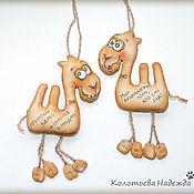 Куклы и игрушки ручной работы. Ярмарка Мастеров - ручная работа Верблюд кофейный. Handmade.