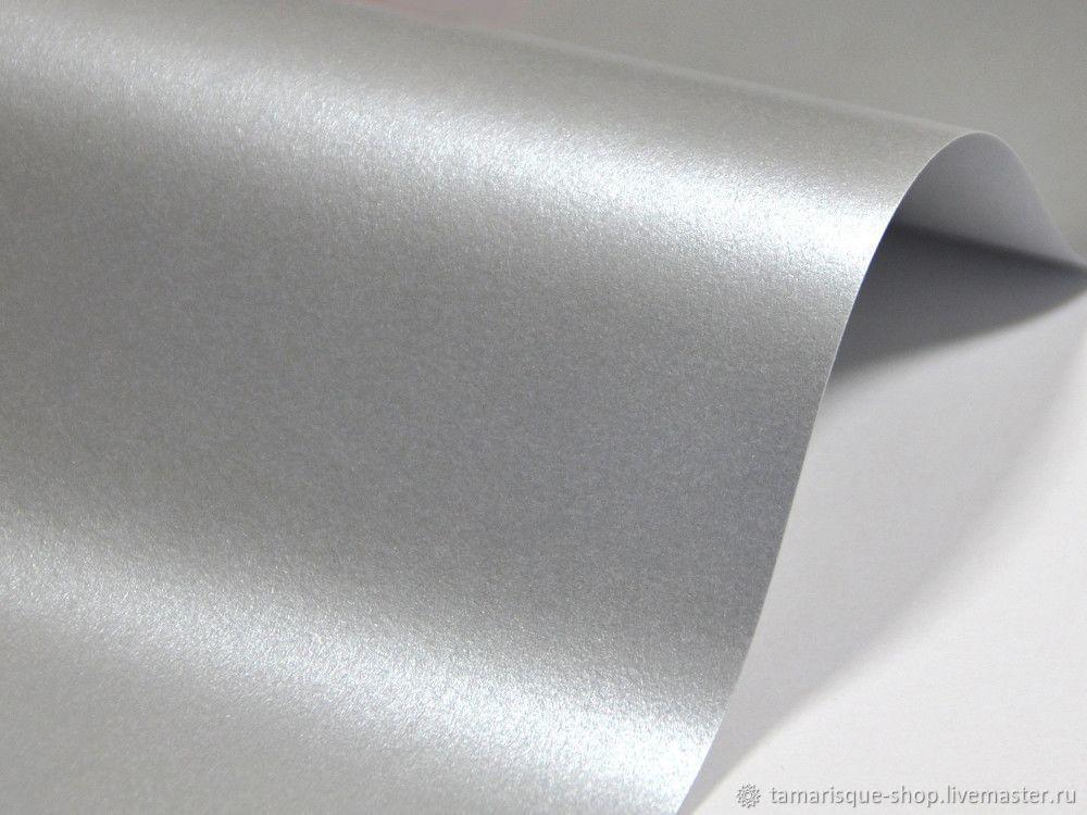Кардсток «Волшебство» (Лунное серебро) 290 гр/м2, Бумага, Москва,  Фото №1