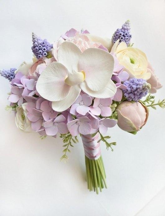 Букет невесты, свадебный букет, букет на свадьбу, букеты для невест, необычный букет, Наталья Асатурова, Блюмен, цветы из полимерной глины, свадебный букет, букет на свадьбу, букет для фотосессии