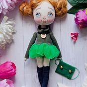 """Куклы и игрушки ручной работы. Ярмарка Мастеров - ручная работа Авторская кукла """"Яблочко"""". Handmade."""