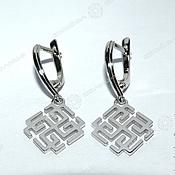 Русский стиль handmade. Livemaster - original item Rodimichi - Svarozhichi Earrings. Handmade.