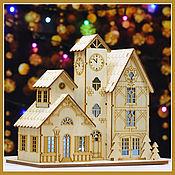 Сувениры и подарки handmade. Livemaster - original item New year`s composition-lamp