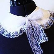 Аксессуары handmade. Livemaster - original item Collar white universal. Handmade.