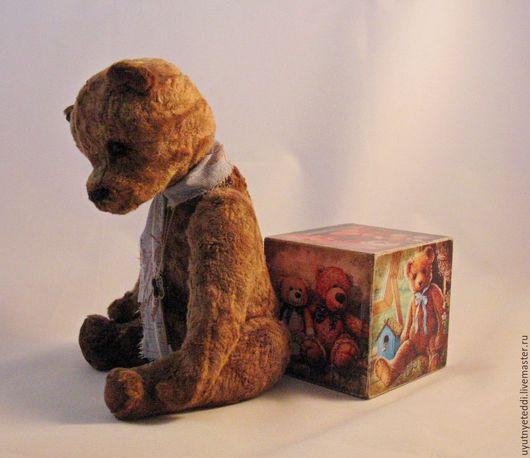 Мишки Тедди ручной работы. Ярмарка Мастеров - ручная работа. Купить Мишка Тедди, винтаж, ретро. Добрый Друг. Handmade.