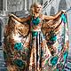 Платья ручной работы. Ярмарка Мастеров - ручная работа. Купить Платье Сн-6. Handmade. Зеленый, Шёлк атлас
