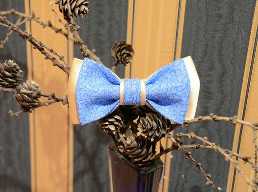 """Галстуки, бабочки ручной работы. Ярмарка Мастеров - ручная работа. Купить Бабочка-галстук """"Прощай зимушка-зима"""". Handmade."""