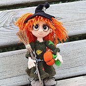 Куклы и игрушки ручной работы. Ярмарка Мастеров - ручная работа Маленькая ведьмочка. Handmade.