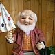 Toy Characters handmade. doll OLE LUKOYE (textile). ZOYA KHOLINA. My Livemaster.Handmade doll, collectible dolls, grandpa
