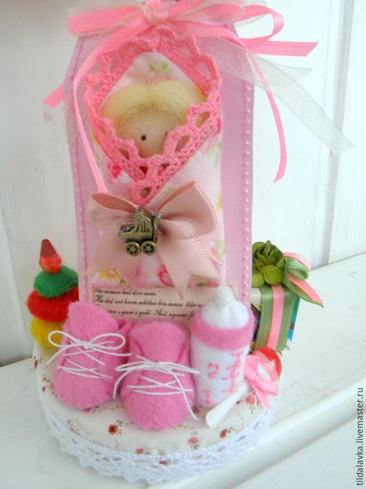 Куклы Тильды ручной работы. Ярмарка Мастеров - ручная работа. Купить Аист - птица приносящая счастье в дом. Handmade. птичка