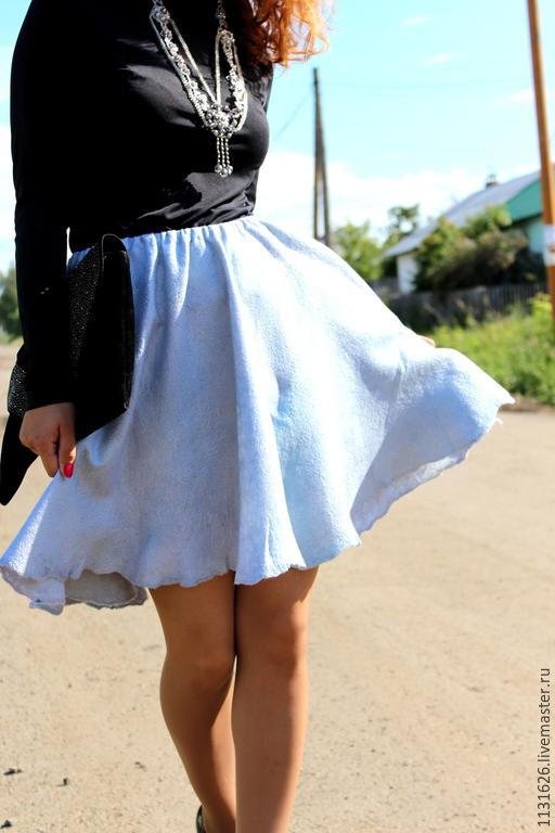 Сильный ветер юбка