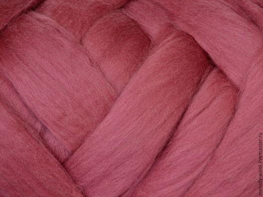 Валяние ручной работы. Ярмарка Мастеров - ручная работа. Купить Шерсть для валяния меринос 18 микрон цвет Лук (Onion). Handmade.