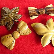 Украшения ручной работы. Ярмарка Мастеров - ручная работа Заколки для волос деревянные. Handmade.