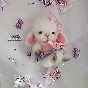 Куклы и игрушки handmade. Livemaster - original item Teddy Bunny Rubi. Handmade.
