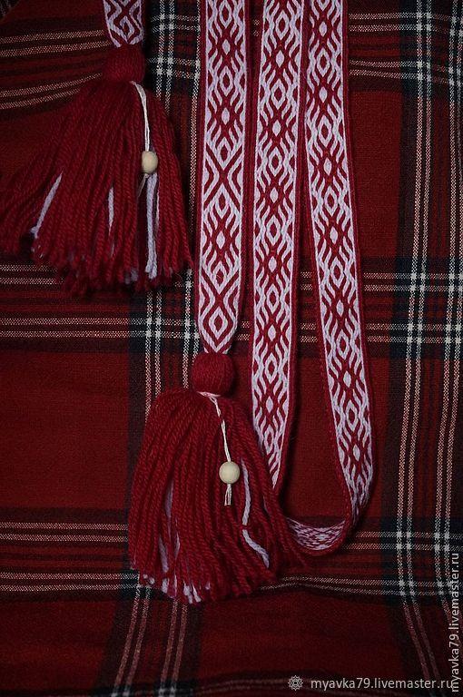 Пояс тканый на дощечках Орепей, Пояса очелья тесемки, Рязань,  Фото №1