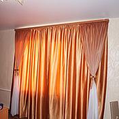 Для дома и интерьера ручной работы. Ярмарка Мастеров - ручная работа Шторы в гостинную. Handmade.