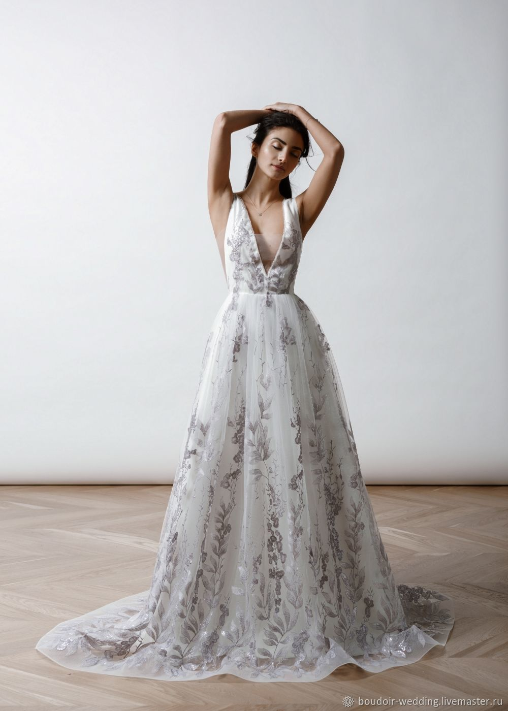Wedding Dress Lilac Shop Online On Livemaster With Shipping