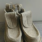 """Обувь ручной работы. Ярмарка Мастеров - ручная работа Валенки, модель """"Пломбир"""". Handmade."""