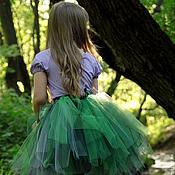 Работы для детей, ручной работы. Ярмарка Мастеров - ручная работа Сказочная юбка-пачка для девочки. Handmade.