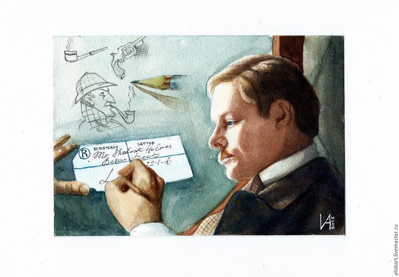Доктор Ватсон, Картины, Набережные Челны,  Фото №1